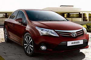 Toyota Avensis Active Optimal Drive 2.0 D-4D 126 DIN BHP